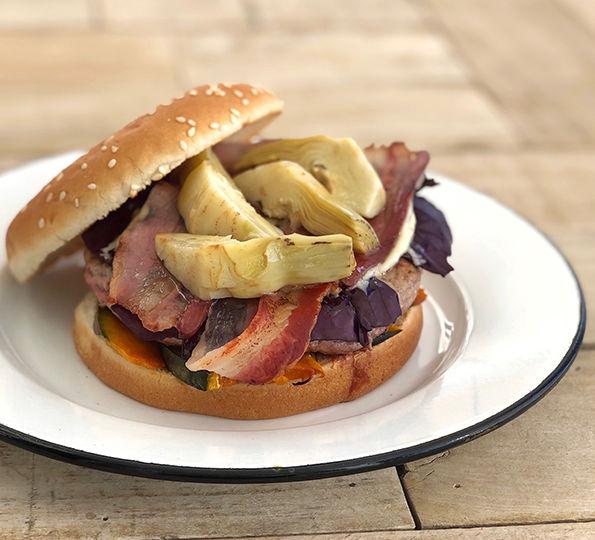 Beef-artichokes burger02