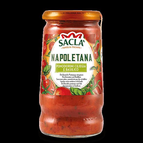 Napoletana – Kirschtomaten und Basilikum