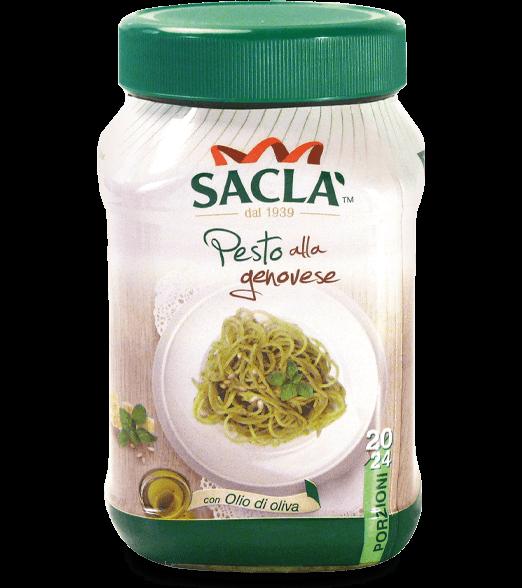 LCATR00-006 Pesto alla genovese con olio di oliva