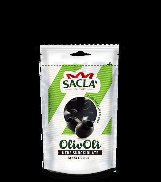 L0D10EV000-024 Olive nere snocciolate (senza liquido)