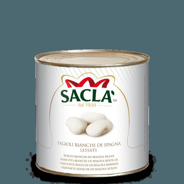 """Bianchi di Spagna"" Butterbohnen in Salzlake (2,5kg)"